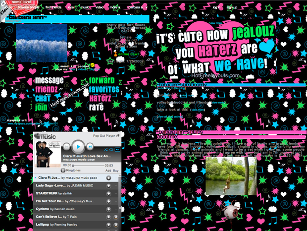 MySpace Design