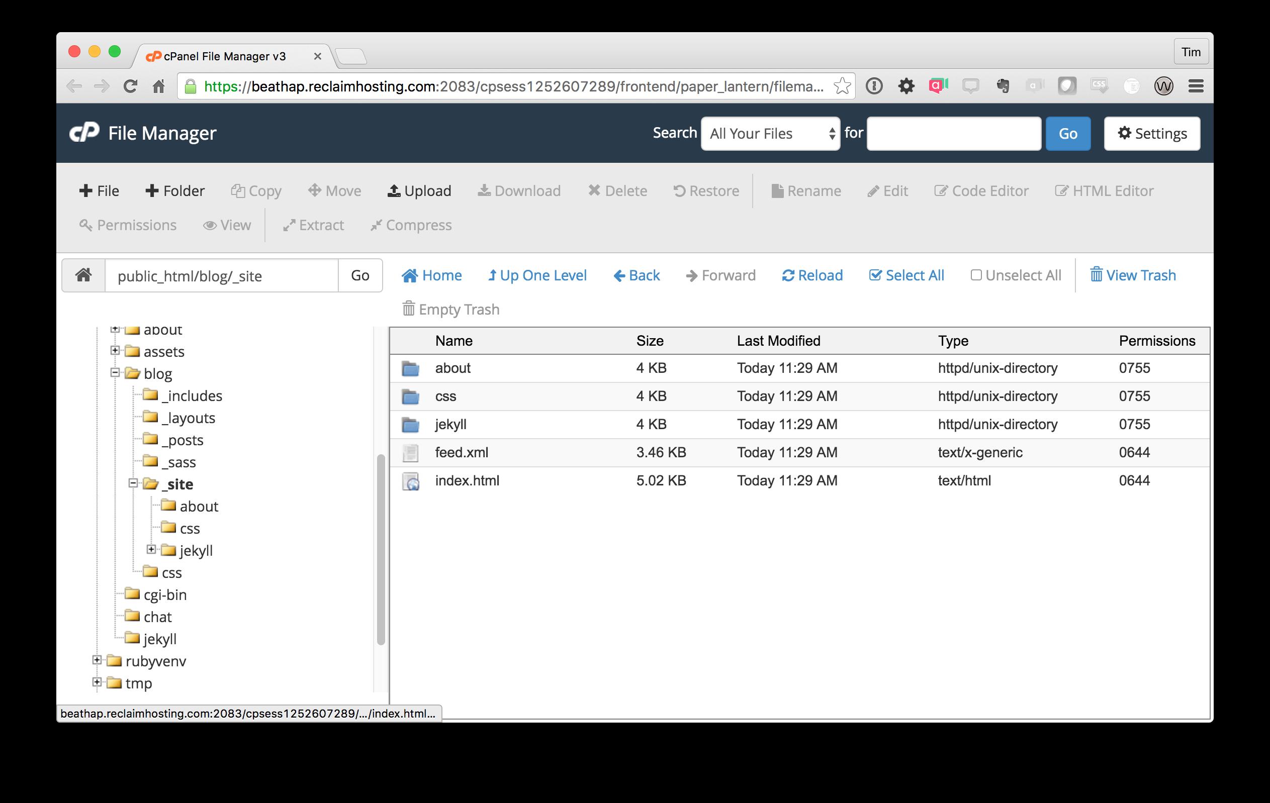_site Folder Structure